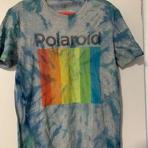 Custom Dyed Polaroid Tee